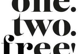 En exclusivité chez Nocibé one, two, free!
